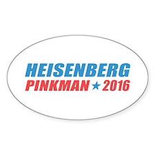 Heisenberg Pinkman 2016 Decal