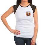 S.I. Untamed Spirit on Women's Cap Sleeve T-Shirt