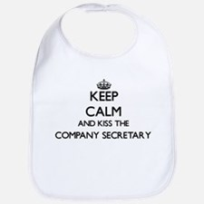 Keep calm and kiss the Company Secretary Bib