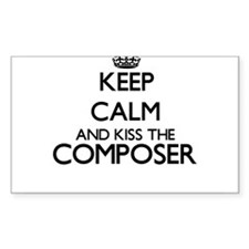 Keep calm and kiss the Composer Decal