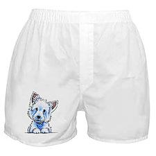 Westie Wesley Boxer Shorts