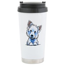 Westie Wesley Travel Mug