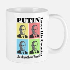 Putin Loves Country Rapist Mugs