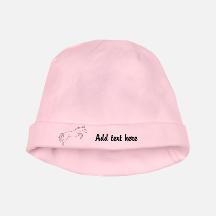 Personalized Horse Baby Hat