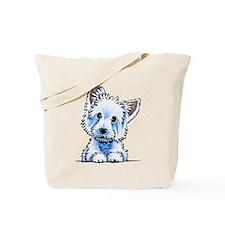 Westie Wesley Tote Bag