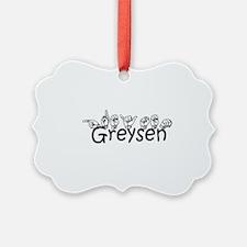 Greyson Ornament