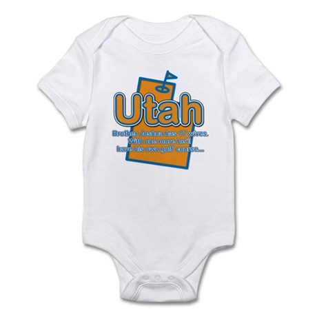 Utah Infant Bodysuit