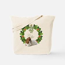 Baby Boer Goat Christmas Tote Bag