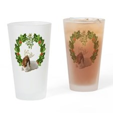 Baby Boer Goat Christmas Drinking Glass
