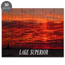 Fire Sunset Puzzle