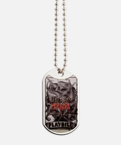 Playbill Dog Tags