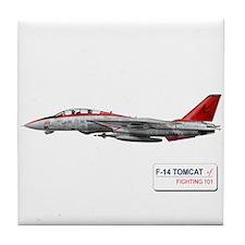 F-14 Tomcat VF-101 Tile Coaster