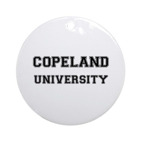 COPELAND UNIVERSITY Ornament (Round)