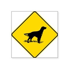 English Setter Crossing Sticker