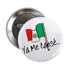 "Mexico Mexican Mexicano 2.25"" Button (10 Pack"