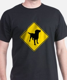 Labrador Retriever Crossing T-Shirt