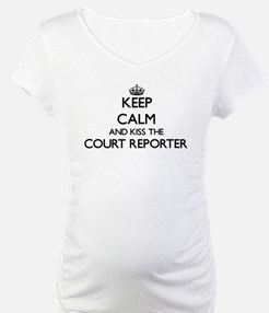 Keep calm and kiss the Court Rep Shirt