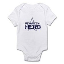 My Daddy is a Hero Infant Bodysuit