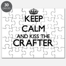 Keep calm and kiss the Crafter Puzzle