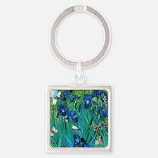 Van Gogh Garden Irises Keychains
