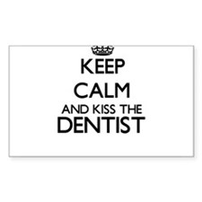 Keep calm and kiss the Dentist Decal