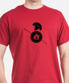 Greek warrior of Anarchy T-Shirt