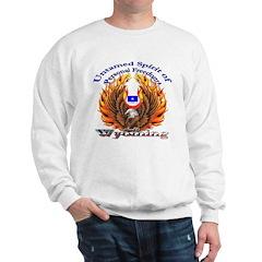 S.I. Untamed Spirit on Sweatshirt