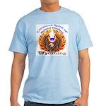 S.I. Untamed Spirit on Light T-Shirt