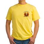 S.I. Untamed Spirit on Yellow T-Shirt
