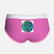 Van Gogh Garden Irises Women's Boy Brief