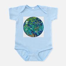 Van Gogh Garden Irises Body Suit