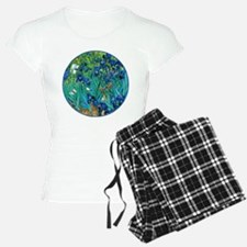 Van Gogh Garden Irises Pajamas