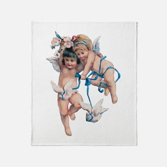 Angels of Peace Throw Blanket