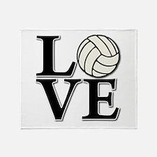 LOVE VB Throw Blanket