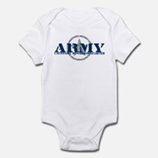Army - I Support My Granddaughter Infant Bodysuit
