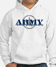 Army - I Support My Granddaughter Hoodie