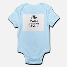 Keep calm and kiss the Diver Body Suit
