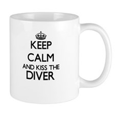 Keep calm and kiss the Diver Mugs