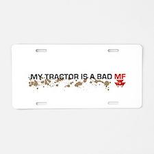 Massey Ferguson Bad Mf Aluminum License Plate
