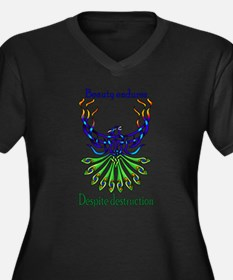 Beauty and Strength Plus Size T-Shirt