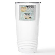 Walter White Quotes Travel Mug