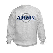 Army - I Support My Fiance Sweatshirt
