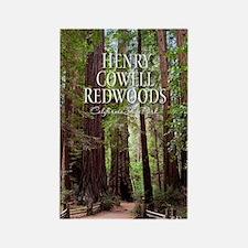 Redwoods Rectangle Magnet