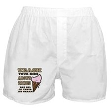 Teach Kids About Taxes Boxer Shorts