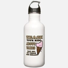 Teach Kids About Taxes Water Bottle