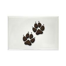 Cute Bark Rectangle Magnet
