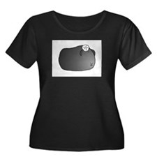 Crested Guinea Pig Plus Size T-Shirt