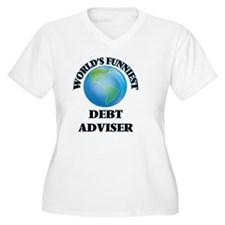 World's Funniest Debt Adviser Plus Size T-Shirt