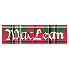Tartan - MacLean Bumper Sticker