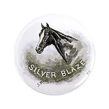 """Silver Blaze 3.5"""" Button"""